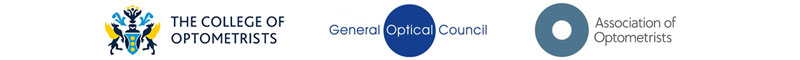 Our Accreditations | AOP | Member of British College of Optometrists | GOC Registered